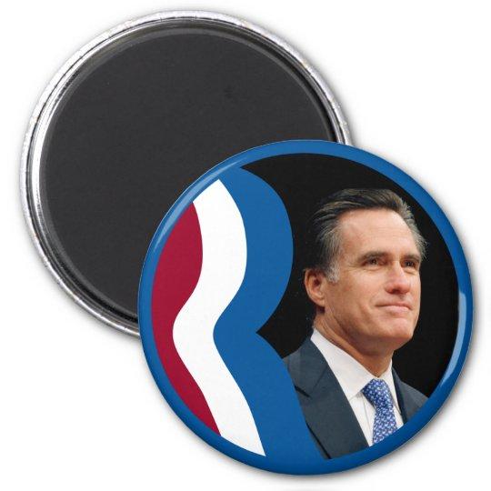 "Mitt Romney ""R"" Logo (Circle - Portrait) Magnet"