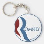 """Mitt Romney """"R"""" Logo Key Chain"""