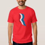 "Mitt Romney ""R"" Logo President 2012 T-Shirt"