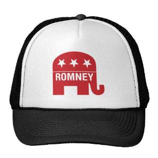 Mitt Romney Republican Elephant Romney Mesh Hats