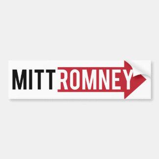 Mitt Romney Right Car Bumper Sticker