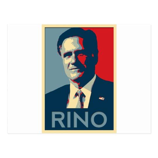 Mitt Romney - RINO Postcard