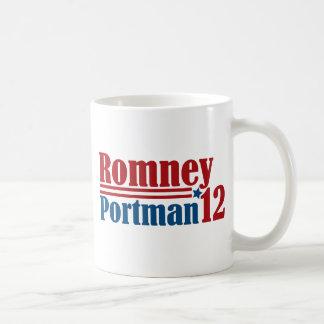 Mitt Romney Rob Portman 2012 Coffee Mug