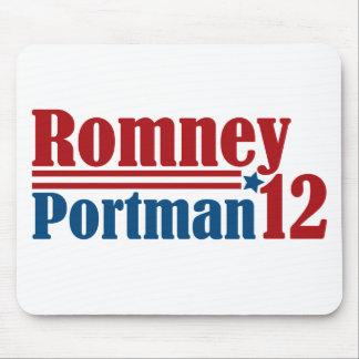 Mitt Romney Rob Portman 2012 Tapete De Raton