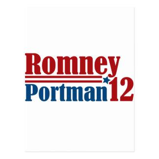 Mitt Romney Rob Portman 2012 Postal