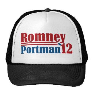 Mitt Romney Rob Portman 2012 Trucker Hat