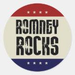 Mitt Romney Rocks Sticker