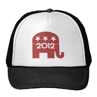 Mitt Romney Rupublican Elephant 2012 Trucker Hat