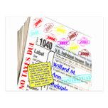 Mitt Romney's 2009 Tax Return Post Cards