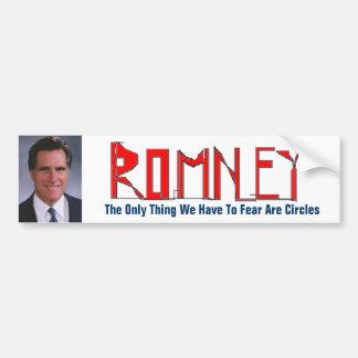 Mitt Romney - Sketchy Bumper Sticker