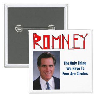Mitt Romney - Sketchy Pinback Buttons