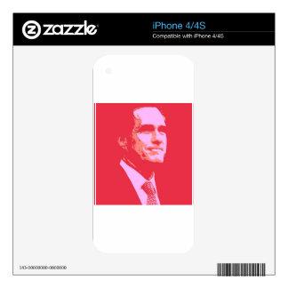 Mitt Romney Skins For iPhone 4