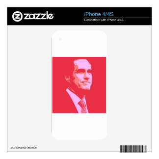Mitt Romney Skins For The iPhone 4