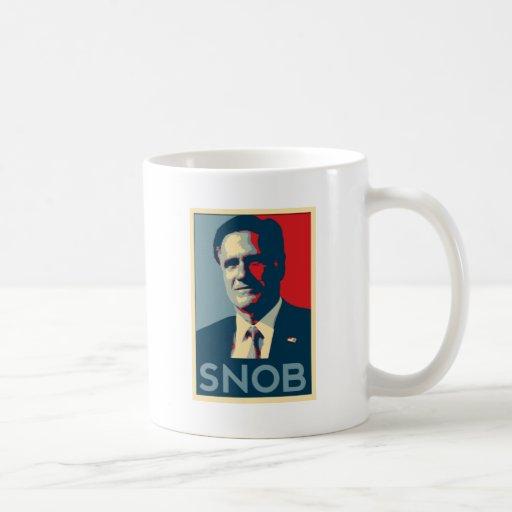 Mitt Romney - Snob Coffee Mug