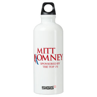 Mitt Romney Sponsored by the top one percent.png SIGG Traveler 0.6L Water Bottle