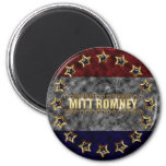 Mitt Romney Stars and Stripes. 2 Inch Round Magnet
