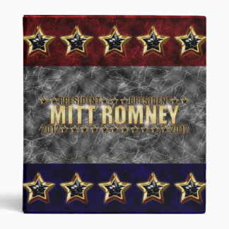 Mitt Romney Stars and Stripes. Binder