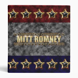 Mitt Romney Stars and Stripes. Binder