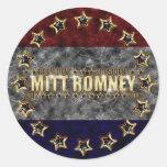 Mitt Romney Stars and Stripes. Sticker