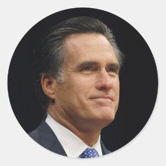 Mitt Romney Classic Round Sticker