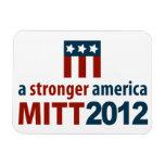 Mitt Romney Stronger America Premium Magnet