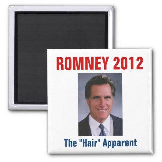 "Mitt Romney - The ""Hair"" Apparent Magnet"