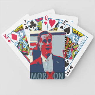 Mitt Romney the Mormon Moron Playing Cards