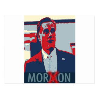 Mitt Romney the Mormon Moron Postcard