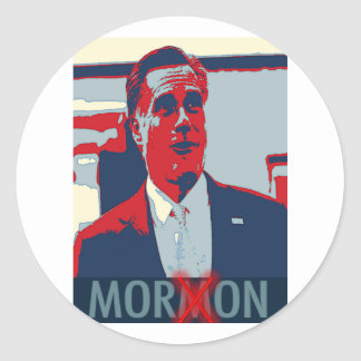 Mitt Romney the Mormon Moron Sticker