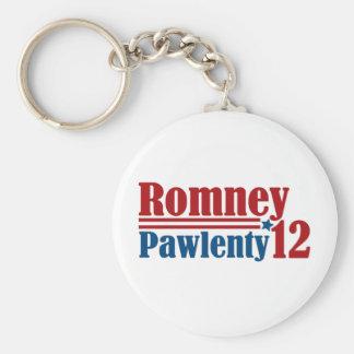 Mitt Romney Tim Pawlenty 2012 Keychain
