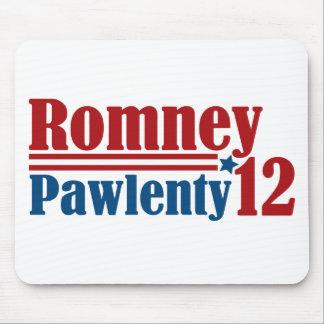 Mitt Romney Tim Pawlenty 2012 Mouse Pad