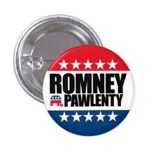 Mitt Romney Tim Pawlenty 2012 Pin