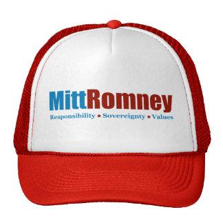 Mitt Romney Trucker Hat