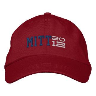 Mitt Romney Twenty Twelve 2012 Embroidered Baseball Caps