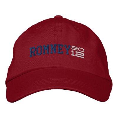 Mitt Romney Twenty Twelve 2012 Embroidered Hats