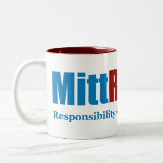 Mitt Romney Two-Tone Coffee Mug