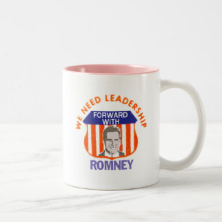 Mitt ROMNEY We Need Leadership Mug Red