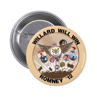Mitt Romney will win in 2012 Button