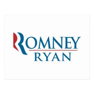 Mitt Romney y Paul Ryan 2012 Postales
