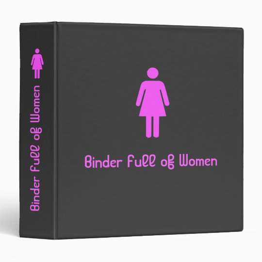 Mitt Romney's Binder Full of Women