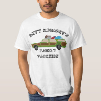 Mitt Romney's Family Vacation T-Shirt
