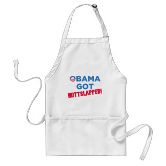 Mitt Slapped Adult Apron