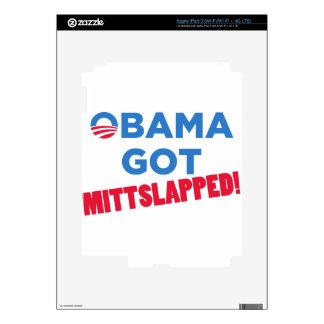 Mitt Slapped Skins For iPad 3