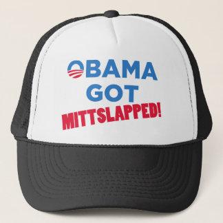 Mitt Slapped Trucker Hat
