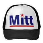 mitt star mesh hats