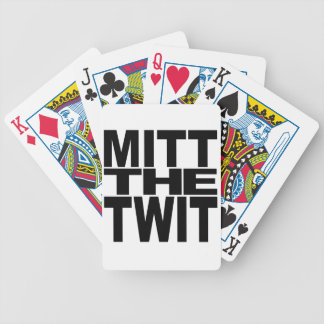 Mitt The Twit Bicycle Playing Cards