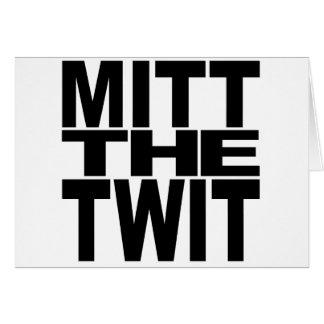 Mitt The Twit Card
