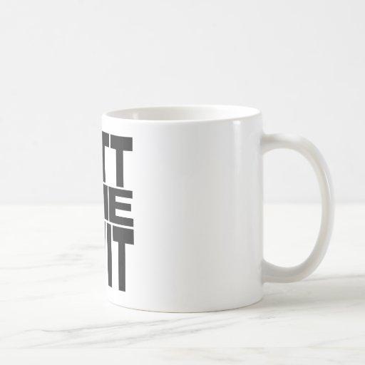 Mitt The Twit Coffee Mug