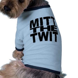 Mitt The Twit Doggie Tshirt