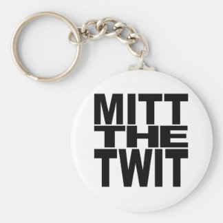 Mitt The Twit Keychain